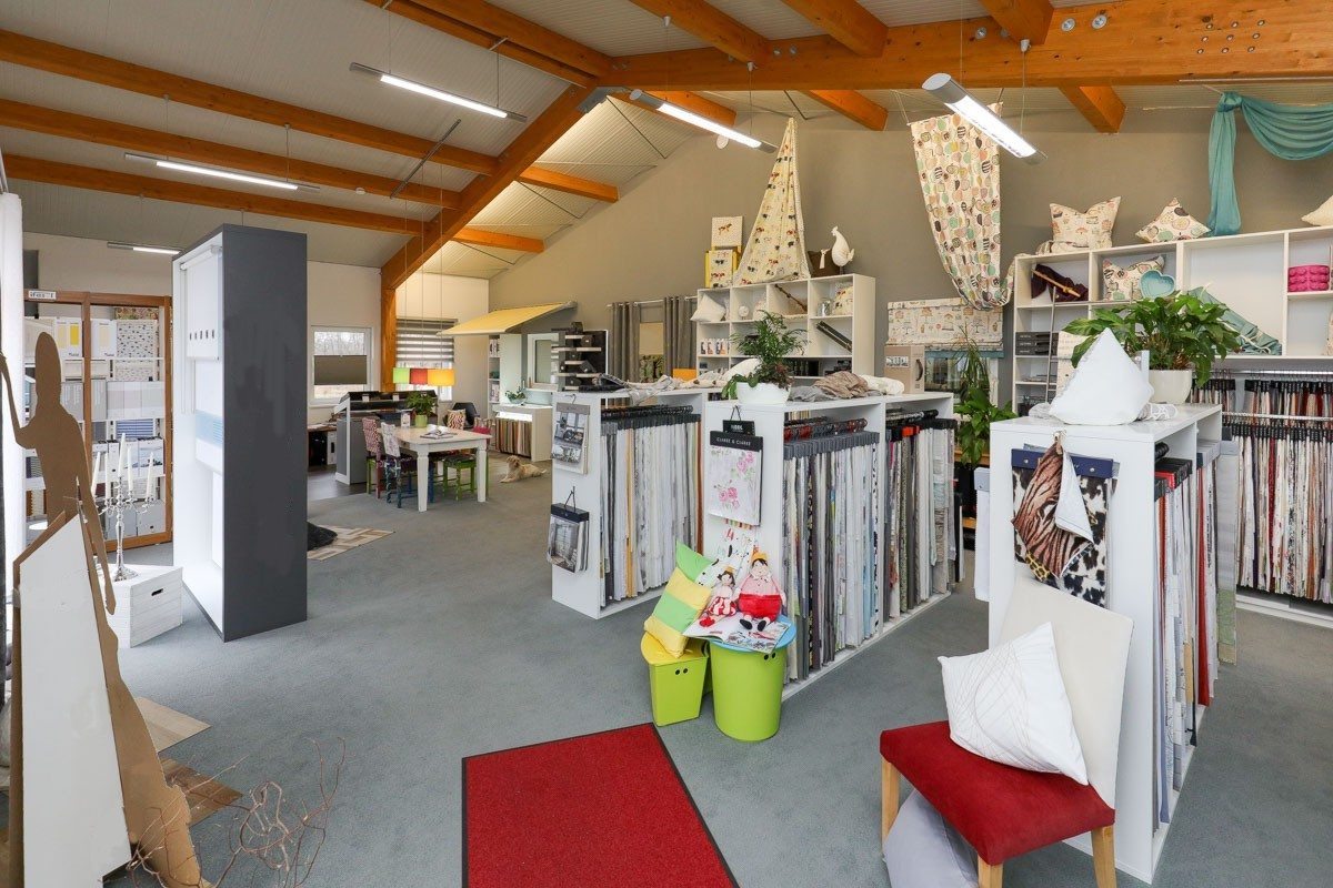 raumausstatter tempel showroom